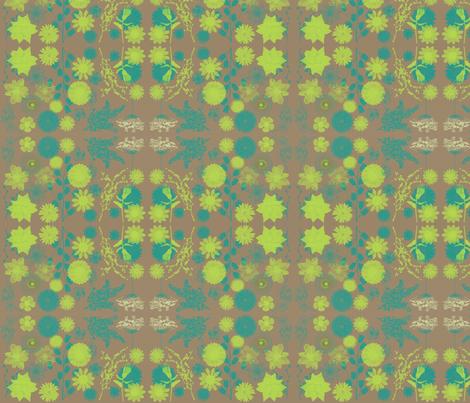 limeblue-tan_bg fabric by balanced on Spoonflower - custom fabric