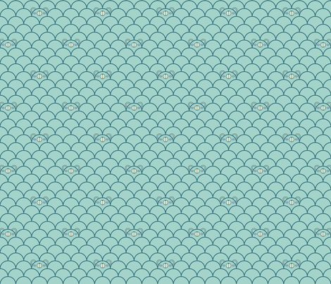 Blue Bears fabric by beeskneesindustries on Spoonflower - custom fabric