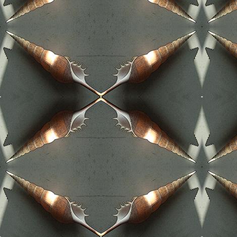 Shell fabric by nalo_hopkinson on Spoonflower - custom fabric