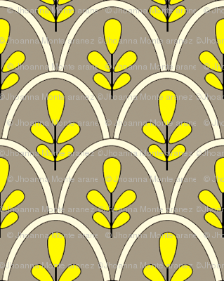 Michi (Yellow and Grey)