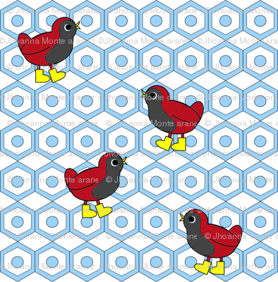 Wandering Birds (Blue)
