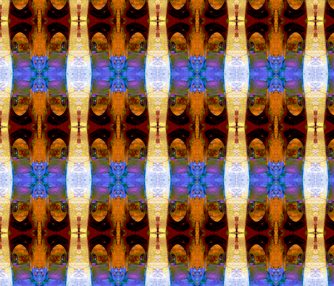 Archways2 fabric by nalo_hopkinson on Spoonflower - custom fabric