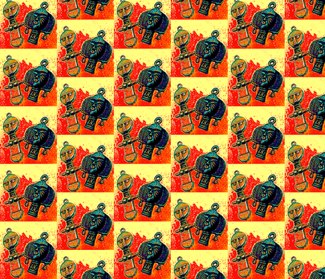 Akua-ba fabric by nalo_hopkinson on Spoonflower - custom fabric