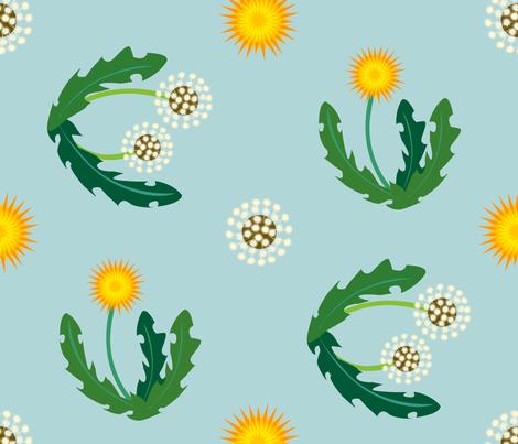 dandyflat fabric by nightgarden on Spoonflower - custom fabric