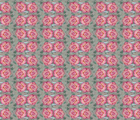 I See Roses fabric by helenklebesadel on Spoonflower - custom fabric