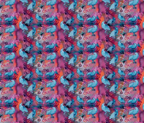 Salt Crows and Rule Breakers fabric by helenklebesadel on Spoonflower - custom fabric