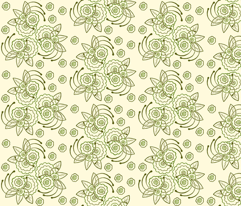 Whimsical_Floral fabric by cksstudio80 on Spoonflower - custom fabric