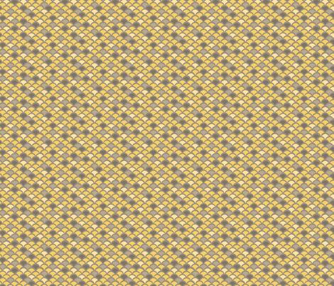 Gordon_Yellow fabric by jaclyn_pacheco on Spoonflower - custom fabric