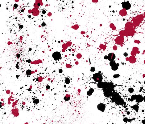 splatter fabric by daniellerenee on Spoonflower - custom fabric