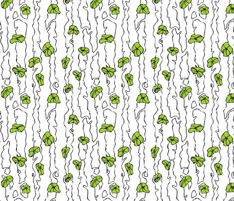 Branch new trees fabric by indieish on Spoonflower - custom fabric