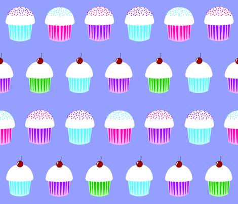 cupcakes_ fabric by nightgarden on Spoonflower - custom fabric