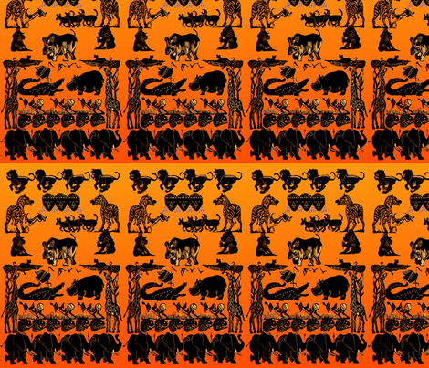 jungle_boogie_sp fabric by papertiguer on Spoonflower - custom fabric