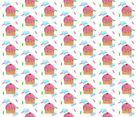 Cupcakes fabric by applejackkids on Spoonflower - custom fabric
