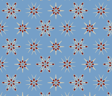 synchronized swimming fabric by troismiettes on Spoonflower - custom fabric