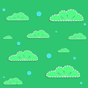Green greenery