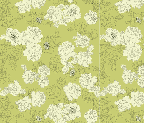 mod-floral__Converted_ fabric by berryjane on Spoonflower - custom fabric
