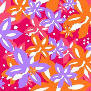 3-color Hibiscus