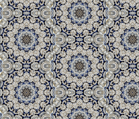 Lace Duchesse fabric by lacefairy on Spoonflower - custom fabric