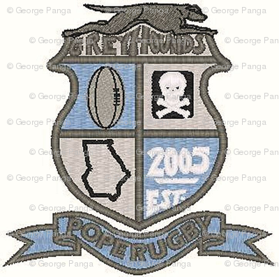 Pope Greyhounds RFC Crest