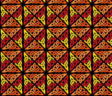 celtic_knot_color fabric by kristenmary on Spoonflower - custom fabric