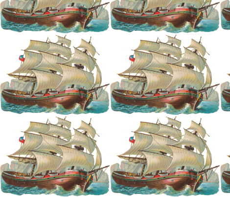 Ship_color fabric by kristenmary on Spoonflower - custom fabric