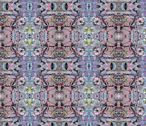 Hydrangea fabric by janied on Spoonflower - custom fabric