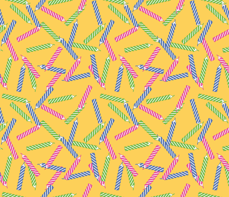 birthday-candles fabric by ophelia on Spoonflower - custom fabric