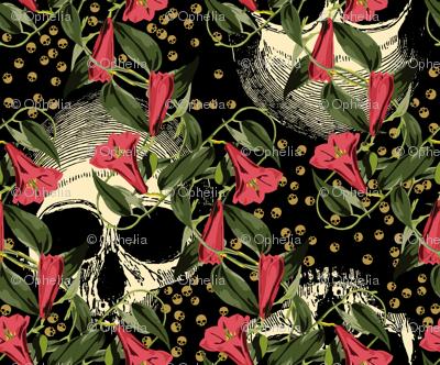 skulls-in-the-garden_black-pink