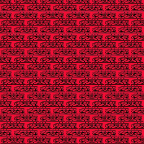 Red Black Scroll