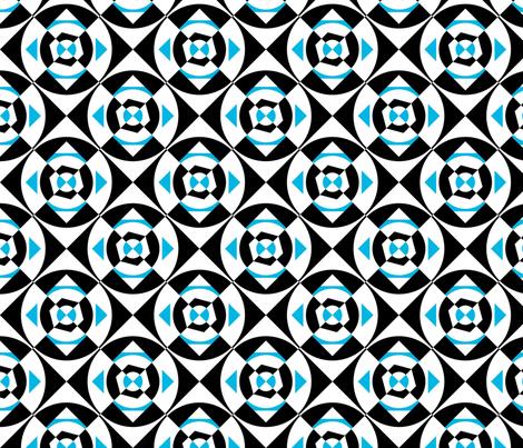 Bluelucy X07 fabric by phillipclark on Spoonflower - custom fabric