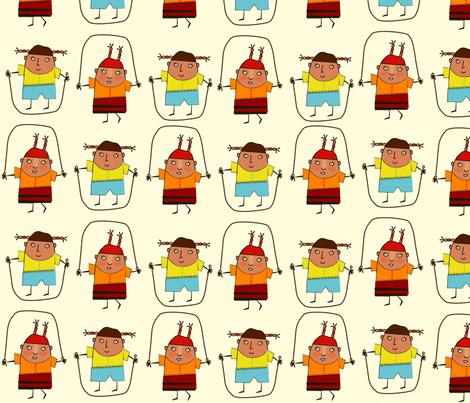 just_jump fabric by margaretsart on Spoonflower - custom fabric