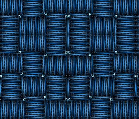coiled fabric by winter on Spoonflower - custom fabric