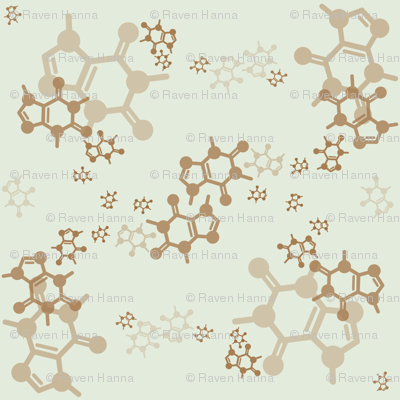 Caffeine Molecules