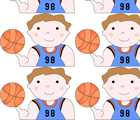 basketballboy fabric by andtwinsmake5 on Spoonflower - custom fabric