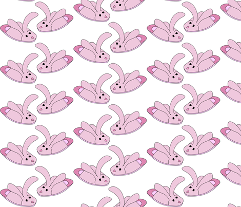 bunny-slipper fabric by andtwinsmake5 on Spoonflower - custom fabric