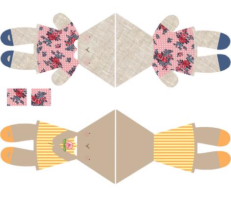 Print Pets fabric by kittyvane on Spoonflower - custom fabric