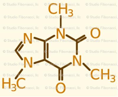 Coffee - Caffeine Molecule