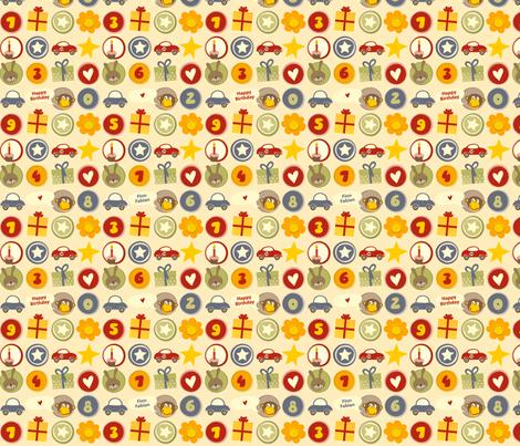 Birthday_Boy fabric by utehil on Spoonflower - custom fabric