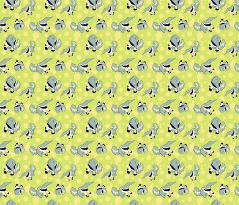 anteater fabric by eloisenarrigan on Spoonflower - custom fabric