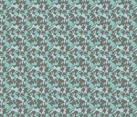 greyrabbits fabric by eloisenarrigan on Spoonflower - custom fabric