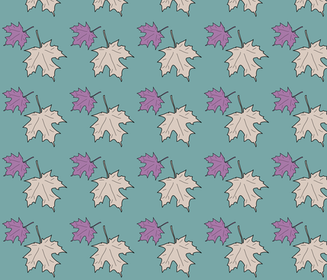 WRW-maple-2lvs fabric by mina on Spoonflower - custom fabric