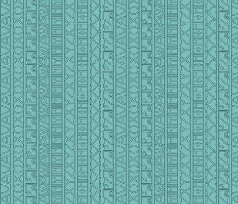 Avignon-text-rotate-lt-blgrn fabric by mina on Spoonflower - custom fabric