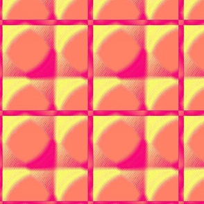 Quilt Square in Pink