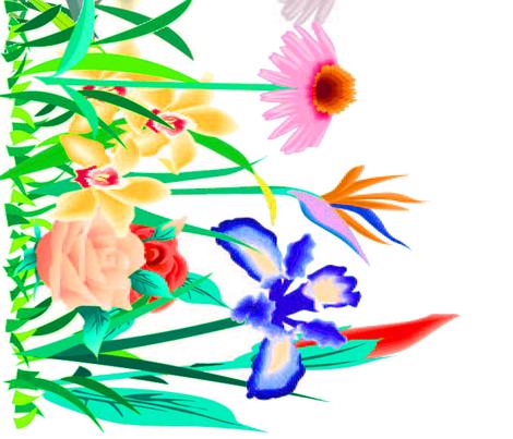 Medow2 fabric by amarina on Spoonflower - custom fabric
