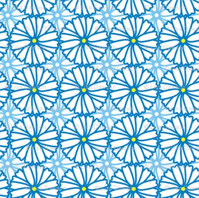 daisy wheels fabric