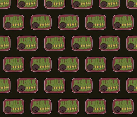 Retro Bowling fabric by jazilla on Spoonflower - custom fabric