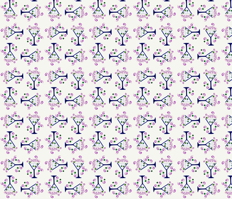 Dirty Martinis fabric by jazilla on Spoonflower - custom fabric