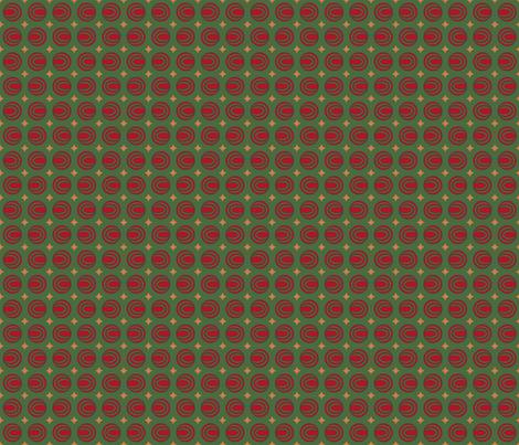 Christmas Stars & Oovies fabric by jazilla on Spoonflower - custom fabric