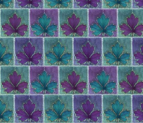 dyepaint-leaf-fabric-NEW2offset fabric by mina on Spoonflower - custom fabric
