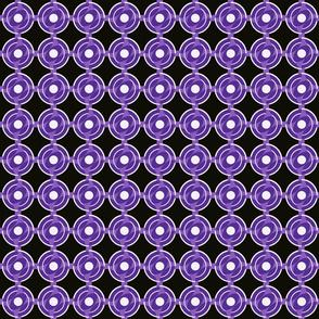 Bullseye Vesica Purple
